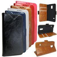 Edle Tasche (Kunstleder) Bookstyle Case mit Ständer für Samsung Galaxy S5 Mini SM-G800 - Wallet