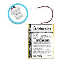 Akku - Li-Polymer 1800mAh - für COWON D2 2GB D2 4GB D2 8GB D2 Plus 16gb