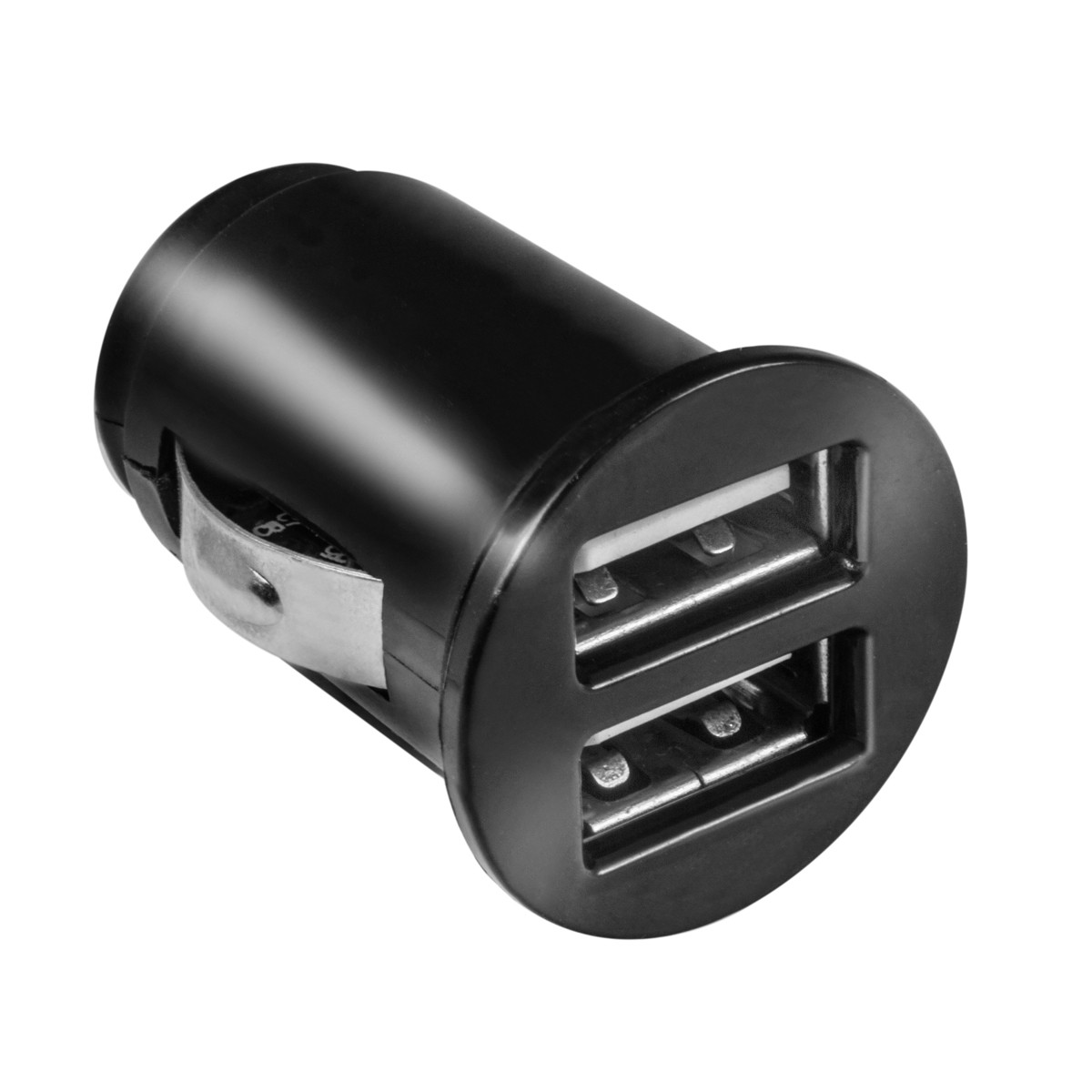 dual usb kfz mini adapter 2 usb ports mit bis zu 2100ma. Black Bedroom Furniture Sets. Home Design Ideas