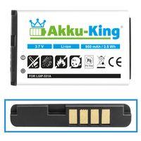 Akku-King Akku ersetzt LG LGIP-531A, SBPL0088801 - Li-Ion 950mAh - für 236C, A100, C195, G320GB, GM205, GS101, KG280, KU250, KX186, T385