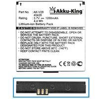 Akku kompatibel mit Emporia AK-V28, AK-V29, 40426 - Li-Ion 1200mAh - für Seniorentelefon Emporia Talk, Emporia Talk Premium, Emporia Talk Plus