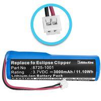 Akku-King Akku für Wahl Eclipse Clipper - ersetzt 8725-1001 - Li-Ion 3000mAh