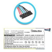 Akku kompatibel mit Asus K010, Transformer Pad 3G, TF103CG - ersetzt C11P1328 - Li-Polymer 5000mAh