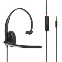 Komfort Headset mit Stabmikrofon für AVM FRITZ!Fon MT-F / C4 / C5 Telefon