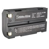 Akku-King Akku kompatibel mit Rayovac EI-D-LI1 - Li-Polymer 3400mAh - für RV-DC8100, Symbol Barcode Scanner, Moli MCC1821, Huace M600