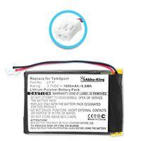 Akku-King Akku für Pure Digital Pocket DAB1500, Pocketdab 1500, TalkSport - ersetzt LP37 - Li-Polymer 1800mAh
