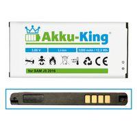 Akku-King Akku ersetzt Samsung EB-BJ510CBC, EB-BJ510CBE, GH43-04601A - Li-Ion 3200mAh - für Galaxy J5 2016
