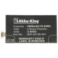 Akku kompatibel mit Blackberry BAT-50136-001, BAT-50136-002, BAT-50136-003 - Li-Polymer 2800mAh - für A10, Aristo, Z20, Z30, Z30 LTE