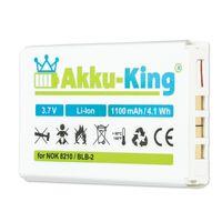 Akku kompatibel mit Olympic BLB-2 - Li-Ion 1100mAh - für DV 330, 3575, Tokio DV 330, Protax QLR05