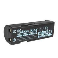 Akku-King Akku kompatibel mit Pentax D-LI72 - Li-Ion 750mAh - für Pentax Optio Z10