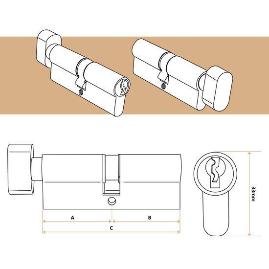 10/St/ück 12/mm Rund Glas Lampwork-Perlen/ /A4564 /Hellblau/