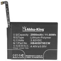 Akku-King Akku kompatibel mit Huawei HB405979ECW - Li-Polymer 2900mAh - für Nova, Nova Dual SIM, CAN-L11, CAN-L13