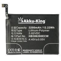 Akku kompatibel mit Huawei HB386280ECW - Li-Polymer 3200mAh - für Honor 9, P10, STF-AL00, STF-AL10, VTR-AL00, VTR-L09, VTR-L29