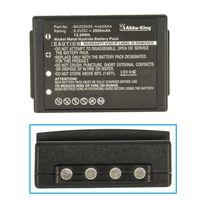 Akku-King Akku kompatibel mit HBC 005-01-00615, BA205000, FuB05XL, Hub05AA - Li-Ion 2000mAh - für HBC Linus 6, Radiomatic Eco, Spectrum 1 / 2