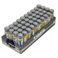 40er Pack - Varta LR6/AA (Mignon) (4006) - Alkali-Mangan Batterie (Alkaline), 1,5 V von Akku-King