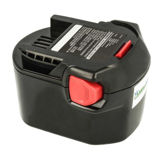 Akku-King Akku kompatibel mit AEG 0700 980 320, B1215R, B1220R, M1230R - Ni-Mh 2100mAh - für AEG B1214G, B1215R, B1220R, BLL 12C, BS 12 G