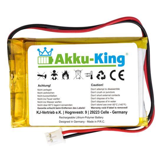 Akku-King Lithium Polymer Akku - 3.7V 1800mAh - 50 x 34 x 10mm