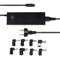 Universal-Netzteil - inkl. 8 DC-Adapter - max. 150W / 8,5A - 12V - 24V (12 / 14 / 15 / 16 / 18 / 18,5 / 19 / 19,5 / 20 / 22 / 24 V)
