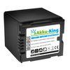 Akku-King Akku für Panasonic CGA-DU21 NV-GS250 NV-GS150 NV-GS140 NV-GS75 - HITACHI BZ-BP14S - Li-Ion 2200mAh 001