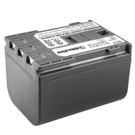 Akku-King Akku kompatibel mit Canon BP-2L12, NB-2L - Li-Ion 1500mAh - für ZR100, Optura 60, MV5i, MVX200, Sony Cyber-shot DSC-T300