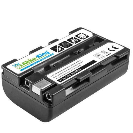 Akku-King Akku ersetzt Sony NP-FM10, NP-FM11, NP-FS11, NP-FS12 Li-Ion 1500mAh - für Cyber-Shot DSC-F505, DSC-P50, DCR-PC3