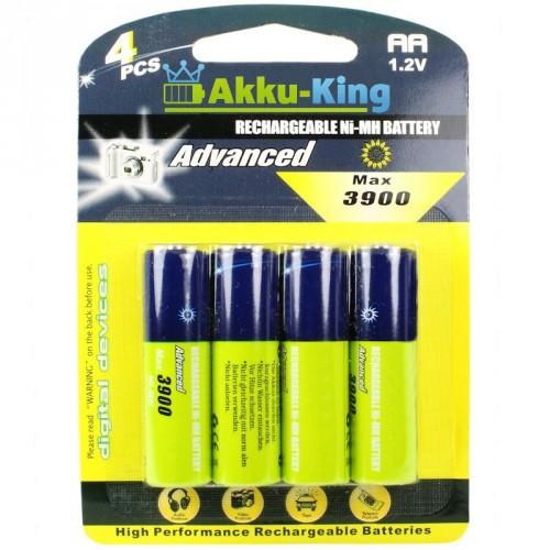 AA-Akku Mignon R6 1.2V Ni-MH 4er Pack