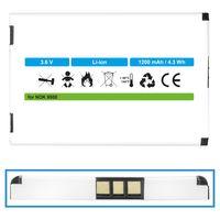 Akku für Nokia 9500 770, 7700, 7710, E61, E62, N92, N770, N800 - ersetzt BP-5L Li-Ion