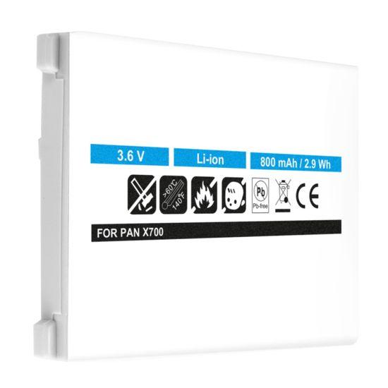 Akku Li-Ion für Panasonic X700, X701