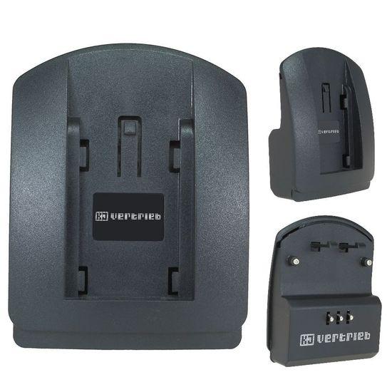 Ladeschale 5101, 5401 für Sony NP-FM30, NP-FM70, NP-QM51, QM71, QM91, Panasonic BN-V607, VW-VB202, VBD1, JVC BN-V607U ( Nr. 127 )