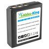 Akku-King Akku kompatibel mit Medion DC-8300, DC-8600, Revue DC - Li-Ion 1100mAh 001