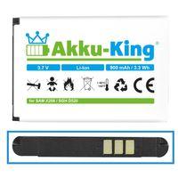 Akku-King Akku ersetzt Samsung AB043446BE - Li-Ion 900mAh - für SGH-P900, P910, i320, B100, B2100, M110