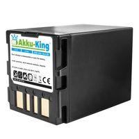 Akku-King Akku ersetzt JVC BN-VF733, BN-VF707U, BN-VF714U, BN-VF733U - schwarz Li-Ion - 3300mAh - für GR-D270, GR-DF450, GZ-MG21