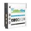 Akku-King Akku ersetzt KODAK Klic-7001, NP40, DLi-213 Li-Ion 750mAh - für EasyShare M1063, MEDION MD85863, POLAROID T10035  001