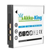 Akku-King Akku ersetzt KODAK Klic-7001, NP40, DLi-213 Li-Ion 750mAh - für EasyShare M1063, MEDION MD85863, POLAROID T10035