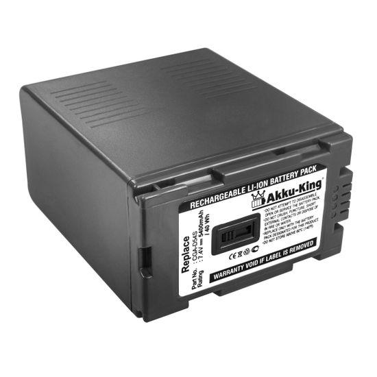 Akku kompatibel mit Panasonic CGA-D54S VW-VBD55 CGR-D220 CGP-D210 CGR-D08s NV-MX500EN Li-Ion - 5400mAh