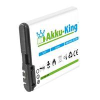 Akku-King Akku kompatibel mit Tiptel BL-6F - Li-Ion 1400mAh - für Ergophone 6040