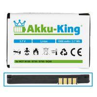 Akku-King Akku ersetzt Motorola BQ50, BT50 - Li-Ion 1000mAh - für V1050, V190, V195, V235, V323, V325, V360