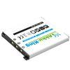 Akku-King Akku ersetzt Casio NP-60 - Li-Ion 600 mAh - für Exilim EXFS10, EXZ80, EXZ9, EXZ29