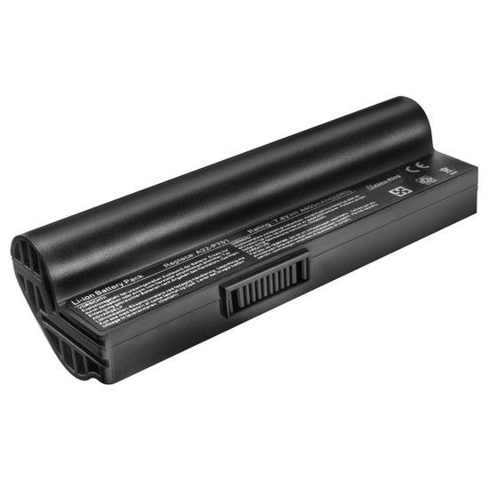 Akku Li-Ion kompatibel mit Asus eee PC 700, 701, 900, 2G surf, 4G surf, 4G, 8G - 4400 mAh schwarz