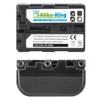 Akku-King Akku kompatibel mit Sony NP-FM50, - Li-Ion 1600mAh - für Cyber-Shot DSC-F707, TRV228, TRV8K, DSR-PDX10