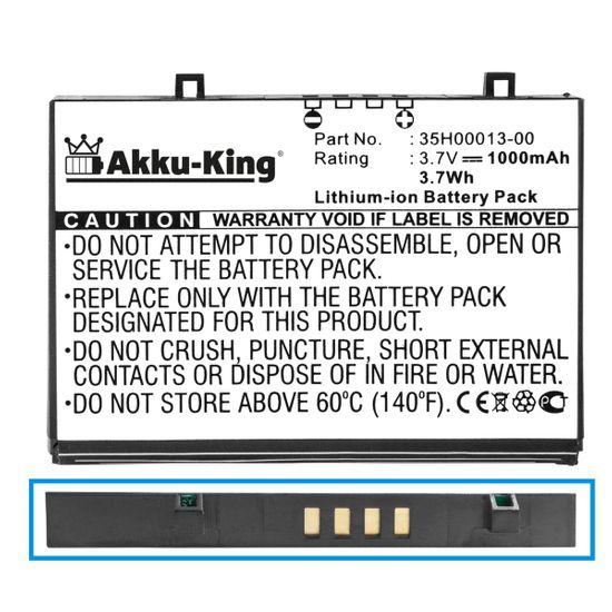 Akku-King Akku kompatibel mit HP FA110A - Li-Ion 1000mAh - für IPAQ H2200 H2110 H2210 H2212E PE2050X PE2051